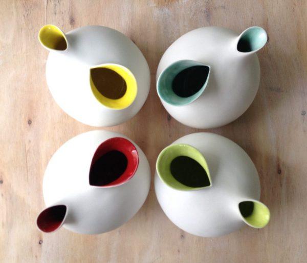 4 Pichets poulettes couleur 2016